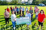 Members of Ardfert Community from the residents of Casements View and Station Road presents  €7,241.33 to Comfort for Chemo on Thursday.<br /> Front: Mary Fitzgerald and Therese Carroll (Both Comfort for Chemo) and Helen Geary, Back l to r: Brenda O'Connor, Breda Duggan,  and Catherine Leen.