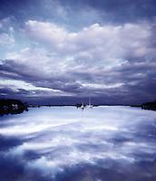 Sailboats, Bullsneck Bay, Southampton