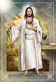 Alfredo, EASTER RELIGIOUS, OSTERN RELIGIÖS, PASCUA RELIGIOSA, Christo, paintings+++++,BRTOCH40399CP,#er#