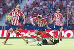 Atletico de Madrid's XXX and Sevilla's XXX during La Liga match between Atletico de Madrid and Sevilla FC at Wanda Metropolitano Stadium in Madrid, Spain September 23, 2017. (ALTERPHOTOS/Borja B.Hojas)