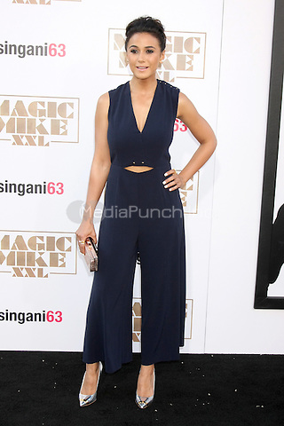 "LOS ANGELES, CA - JUNE 25: Emmanuelle Chriqui  at the ""Magic Mike XXL"" Premiere at the TCL Chinese Theater on June 25, 2015 in Los Angeles, California. Credit: David Edwards/MediaPunch"