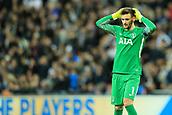 13th September 2017, Wembley Stadium, London, England; Champions League Group stage, Tottenham Hotspur versus Borussia Dortmund; Hugo Lloris of Tottenham Hotspur