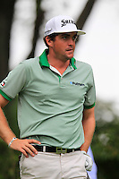 Keegan Bradley (USA) tees off the 9th tee during Thursday's Round 1 of the 2014 PGA Championship held at the Valhalla Club, Louisville, Kentucky.: Picture Eoin Clarke, www.golffile.ie: 7th August 2014