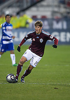 21 November 2010: Colorado Rapids midfielder Wells Thompson #15 in action during the 2010 MLS CUP between the Colorado Rapids and FC Dallas at BMO Field in Toronto, Ontario Canada..The Colorado Rapids won 2-1 in extra time....