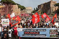22.06.2019 - June 22 March For An Open City, Solidarity & Against Evictions: Rome Can't Be Shut Down