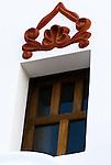 Window, San Xavier del Bac Mission, Tucson, Arizona