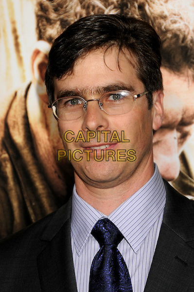 "BRUCE C. McKENNA, Writer.HBO's ""The Pacific"" Mini-Series Premiere held at Grauman's Chinese Theatre, Hollywood, California, USA..February 24th, 2010.headshot portrait grey gray glasses.CAP/ADM/BP.©Byron Purvis/AdMedia/Capital Pictures."