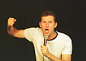Adam Hills in Go You Big Red Fire Engine at the Pleasance Theatre Edin 2001  PIC Geraint Lewis