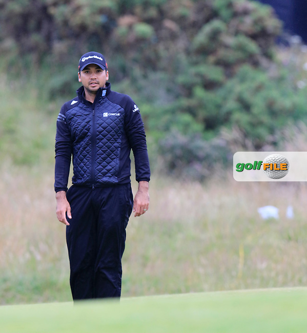 Jason DAY (AUS) at the 17th green during Monday's Final Round of the 144th Open Championship, St Andrews Old Course, St Andrews, Fife, Scotland. 20/07/2015.<br /> Picture Eoin Clarke, www.golffile.ie