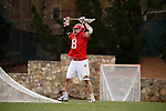 2017 March 25: Austin Henningsen #18 of Maryland Terrapins during a 15-7 win over the North Carolina Tar Heels at Fetzer Field in Chapel Hill, NC.
