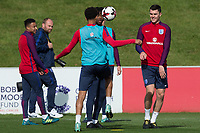 Michael Keane during the part open training session of the  England national football squad at St George's Park, Burton-Upon-Trent, England on 31 August 2017. Photo by James Williamson.