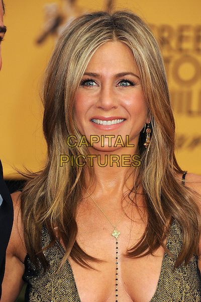 25 January 2015 - Los Angeles, California - Jennifer Aniston. 21st Annual Screen Actors Guild Awards - Arrivals held at The Shrine Auditorium. <br /> CAP/ADM/BP<br /> &copy;BP/ADM/Capital Pictures