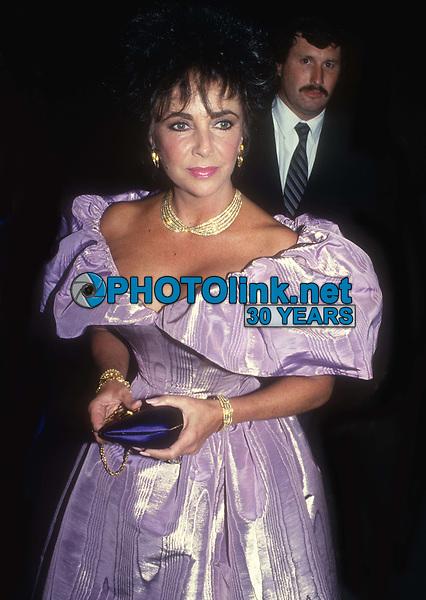 Elizabeth Taylor 1986<br /> Photo By John Barrett/PHOTOlink.