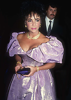 Elizabeth Taylor 1986<br /> Photo By John Barrett/PHOTOlink.
