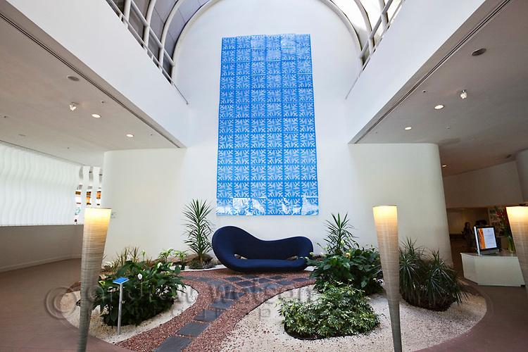 Foyer of Hilton Hotel Cairns.  Cairns, Queensland, Australia