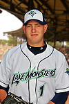 24 June 2008: Vermont Lake Monsters pitcher Casey Whitmer. Baseball Card Image for 2008. For in-house use by the Vermont Lake Monsters Only. Editorial or other use of images by other publications or media outlets must secure licensing from the photographer Ed Wolfstein prior to publication, and is based on standards of circulation, and placement in a given publication...Mandatory Credit: Ed Wolfstein.