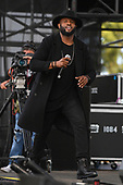 MIAMI GARDENS FL - MARCH 17: A Randolph performs during Day 1 at Jazz In The Gardens at Hand Rock Stadium on March 17, 2018 in Miami Gardens, Florida. : Credit Larry Marano © 2018