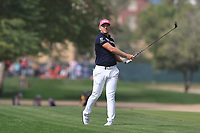 Matt Wallace (ENG) on the 3rd fairway during Round 2 of the Omega Dubai Desert Classic, Emirates Golf Club, Dubai,  United Arab Emirates. 25/01/2019<br /> Picture: Golffile | Thos Caffrey<br /> <br /> <br /> All photo usage must carry mandatory copyright credit (© Golffile | Thos Caffrey)