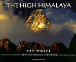 In 150 photographs taken on journeys through Pakistan, India, Nepal, Tibet, and China, Art Wolfe presents the Himalaya in all its beauty and grandeur - not only the landscape, but the people as well. Wolfe's images are paired with mountaineering journalist Peter Potterfield's interviews with three of the world's most celebrated climbers; Reinhold Messner, Doug Scott, and Ed Viesturs. Foreward by Norbu Tenzing Norgay of the American Himalayan Institute. In The High Himalaya, Art Wolfe's photography is stunning, from fluted ice walls to sunrise and sunset colors on Everest to the deeply creased faces of the village elders. <br /> <br /> Now out of print.