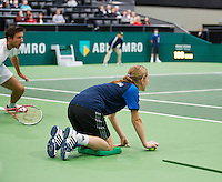 13-02-13, Tennis, Rotterdam, ABNAMROWTT, Ballgirl