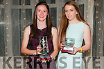 Kerry Athletics Awards Night: Pictured at the Kerry Athletics Awards night at the Listowel Arms Hotel on Saturday night last were Fiona Doyle & Aoife O'Carroll representing Sinead O'Connor.