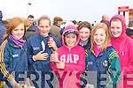 Lorna Griffin, Saoirse Casey, Jesse Griffin, Louise Casey, Sharon and Kelly Sheahan enjoying Glenbeigh races at Rossbeigh beach on Sunday