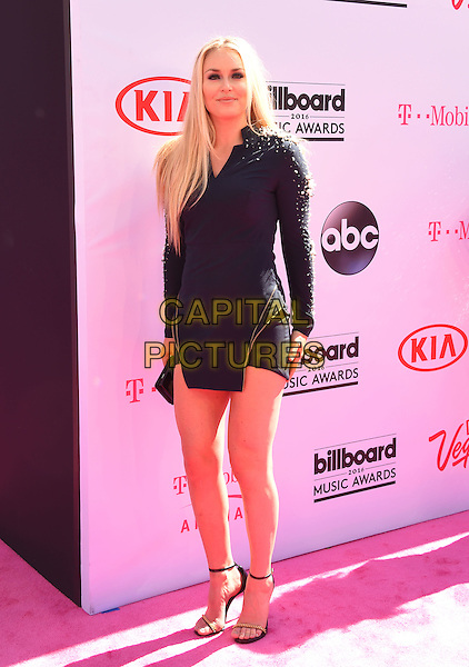 LAS VEGAS, NV - MAY 22: Olympic ski racer Lindsey Vonn attends the 2016 Billboard Music Awards at T-Mobile Arena on May 22, 2016 in Las Vegas, Nevada.<br /> CAP/ROT/TM<br /> &copy;TM/ROT/Capital Pictures