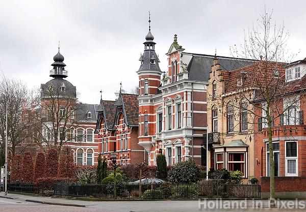 Nederland -  Oss  -  2018.  Huizen in de Molenstraat.   Foto Berlinda van Dam / Hollandse Hoogte