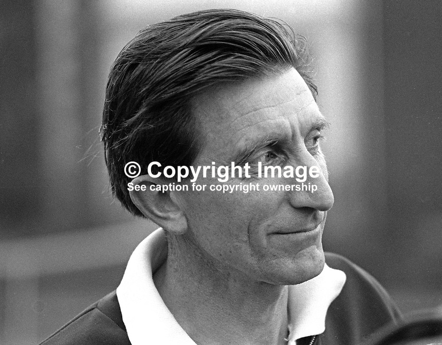 Vivian Gotto, marine biologist, Davis Cup tennis player for Ireland, Windsor Lawn Tennis Club, Belfast, N Ireland, 197004000130.<br />