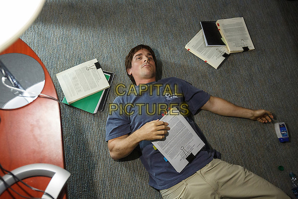 The Big Short (2015) <br /> Christian Bale<br /> *Filmstill - Editorial Use Only*<br /> CAP/KFS<br /> Image supplied by Capital Pictures