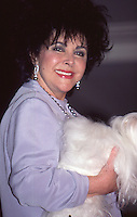 Elizabeth Taylor At Macy's NYC 1996<br />