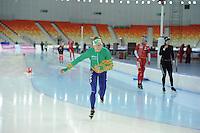 SPEEDSKATING: SOCHI: Adler Arena, 19-03-2013, Training, Jorrit Bergsma (NED), © Martin de Jong