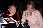 Verne Troyer with Martha Stewartattends the N.A.T.P.E. Convention at Convention Hall on January 12, 2000 in New Orleans.