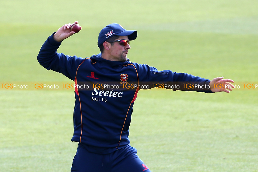 Alastair Cook of Essex during Surrey CCC vs Essex CCC, Specsavers County Championship Division 1 Cricket at the Kia Oval on 11th April 2019