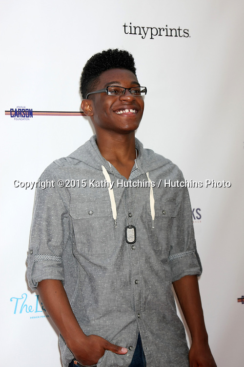 LOS ANGELES - FEB 19:  Kamil McFadden at the Milk+Bookies Sixth Annual Story Time Celebration at the Toyota Grand Prix Racecourse on April 19, 2015 in Long Beach, CA