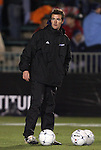 11 December 2009: Akron assistant coach Oliver Slawson. The University of Akron Zips defeated the University of North Carolina Tar Heels 5-4 on penalty kicks after the game ended in a 0-0 overtime tie at WakeMed Soccer Stadium in Cary, North Carolina in an NCAA Division I Men's College Cup Semifinal game.