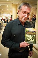 Author Ron Atkinson during a benefit for Sunshine Kids, Naples, Florida, USA. Photo by Debi PIttman Wilkey