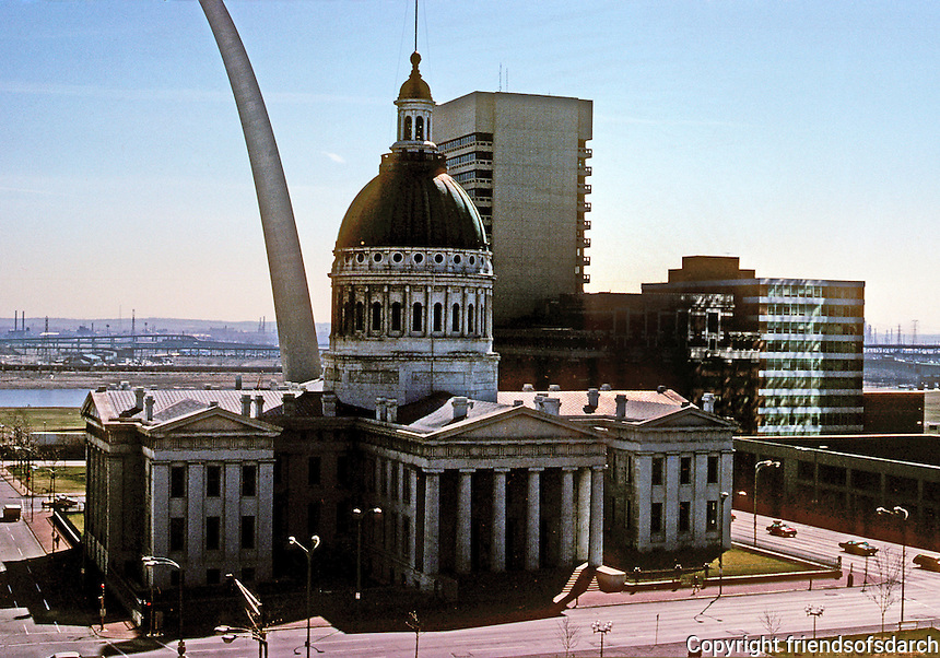 St. Louis: Old Courthouse, 1839-1859. Dome--1859. Photo '77.