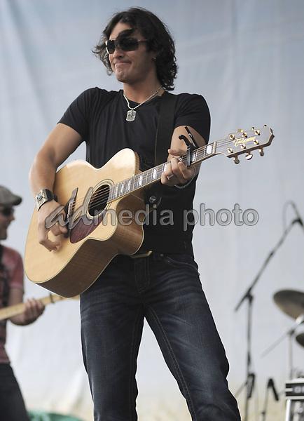 09 June 2010 - Nashville, TN - Joe Nichols. 2010 CMA Music Festival Chevy Stage at Bridgestone Arena. Photo Credit: Dara Farr/AdMedia