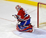 3 February 2007: Montreal Canadiens goaltender Cristobal Huet (39) of France makes a save against the New York Islanders at the Bell Centre in Montreal, Canada. The Islanders defeated the Canadiens 4-2.