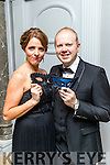 Helen and Ronan Falvey pictured at the Pieta House Masquerade Ball on Friday night last held in the Rose Hotel, Tralee, pictured at Pieta House Masquerade Ball on Friday night last held in the Rose Hotel, Tralee.
