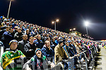 The capacity attendance at the Kerry v Dublin match in the National League in Austin Stack park on Saturday night.