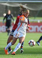 20181027 - CAMPHIN-EN-PEVELE , FRANCE : Montpellier's Janice Cayman  pictured during the 8 th competition game between the women teams of Lille OSC and Montpellier Herault Sporting Club in the 2018-2019 season of the first Division - Ligue 1 at Domaine de Luchin , Saturday 27th Octobre 2018 ,  PHOTO Dirk Vuylsteke | Sportpix.Be