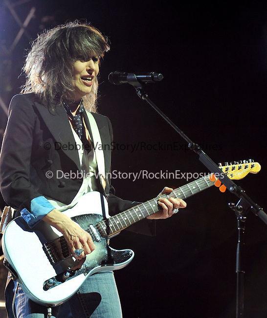 "Chrissie Hynde of The Pretenders  performs live in support of the Pretenders' new cd ""Break up the Concrete"" at The Grove of Anaheim in Anaheim, California on March 08,2009                                                                     Copyright 2009 RockinExposures"