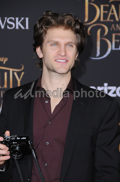 "02 March 2017 - Hollywood, California - Keegan Allen. Los Angeles premiere of Disney's ""Beauty and the Beast' held at El Capitan Theatre. Photo Credit: Birdie Thompson/AdMedia"