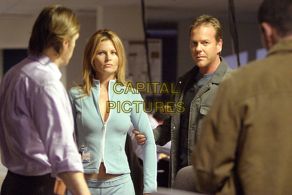 "GABRIELLE FITZPATRICK & KIEFER SUTHERLAND.in 24.""5:00am-6:00am"" .keifer.*Editorial Use Only*.www.capitalpictures.com.sales@capitalpictures.com.Supplied by Capital Pictures."