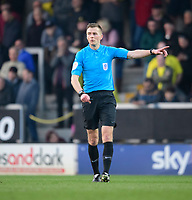 Referee Michael Salisbury<br /> <br /> Photographer Chris Vaughan/CameraSport<br /> <br /> The EFL Sky Bet League One - Saturday 23rd February 2019 - Burton Albion v Fleetwood Town - Pirelli Stadium - Burton upon Trent<br /> <br /> World Copyright © 2019 CameraSport. All rights reserved. 43 Linden Ave. Countesthorpe. Leicester. England. LE8 5PG - Tel: +44 (0) 116 277 4147 - admin@camerasport.com - www.camerasport.com