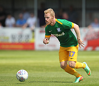 Preston North End's Daryl Horgan<br /> <br /> Photographer Mick Walker/CameraSport<br /> <br /> Pre-Season Friendly -Bamber Bridge v Preston North End  - Saturday 7th July  2018 - Irongate Stadium,Bamber Bridge<br /> <br /> World Copyright &copy; 2018 CameraSport. All rights reserved. 43 Linden Ave. Countesthorpe. Leicester. England. LE8 5PG - Tel: +44 (0) 116 277 4147 - admin@camerasport.com - www.camerasport.com