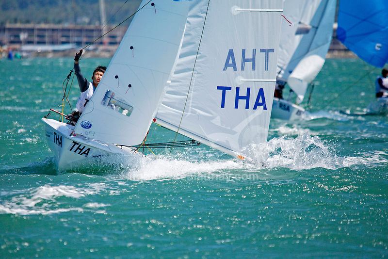 Thailand	420	Men	Crew	THAKK1	Kitipoom	Kumjorn<br /> Thailand	420	Men	Helm	THANB3	Nopporn	Booncherd<br /> Day2, 2015 Youth Sailing World Championships,<br /> Langkawi, Malaysia