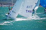 Thailand420MenCrewTHAKK1KitipoomKumjorn<br /> Thailand420MenHelmTHANB3NoppornBooncherd<br /> Day2, 2015 Youth Sailing World Championships,<br /> Langkawi, Malaysia